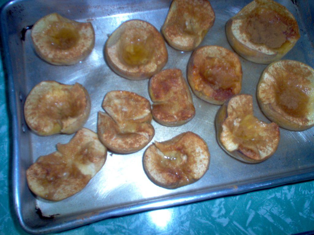 Marmelos assados no forno
